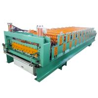 Buy cheap High Strength Metal Roof Roll Forming Machine For Light Weight Wall Panels from wholesalers