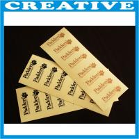 Buy cheap Cheap adhesive fabric adhesive stickers label product