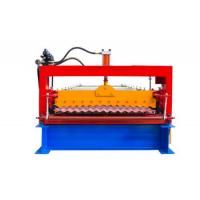 Buy cheap Industrial Metal Roof Panel Machine, Blue Color Roofing Sheet Forming Machine from wholesalers