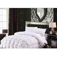 Buy cheap 100% Cotton Luxury Duck Down Quilt / Duck Feather And Down Duvet Alternative Washed from wholesalers