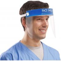 Buy cheap CE FDA Approval Clear Plastic Face Shield , Full Face Shield Environmental product