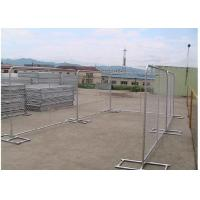 Buy cheap Silver Color Portable Event Fencing , Construction Chain Link Fence Panels from wholesalers