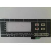 Buy cheap Custom Touch Screen Waterproof Membrane Switch With 3M Adhesive , High Sensivity product