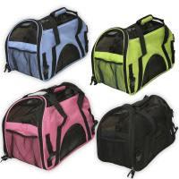 Buy cheap Oxgord Pet Carrier Soft Sided Cat / Dog Comfort Travel Tote Bag Airline Approved pets bag from wholesalers