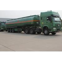 Buy cheap Carbon steel oil tank trailer fuel tanker from wholesalers