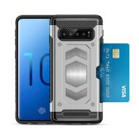 Buy cheap Carbon Fibre Brushed Back Cover Armor Phone Case For Sumsang S10 CE FCC ROHS from wholesalers