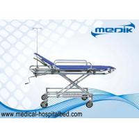 Buy cheap Easy Moving Patient Transfer Trolley For Ambulance Aluminum Alloy Structure from wholesalers
