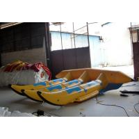 Buy cheap Floating Inflatable Toy Boat , 0.9mm PVC Inflatable 6 seats Flyfish for Water Game from wholesalers