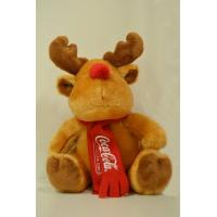 Buy cheap 8 Inch Stuffed Promotional Gifts Toys Christmas Moose Reindeer Plush Toys product