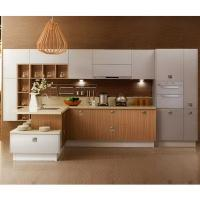 Refinishing Melamine Kitchen Cabinets: Painting White Solid Wood Kitchen Cabinets With Wood Color