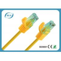 Buy cheap Low Loss Rj45 Cat6 Patch Cable , Colorful CCA Category 6 Patch Cord 3M from wholesalers