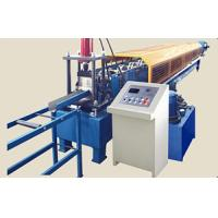 Buy cheap High Speed Downspout Roll Forming Machine Round Pipe Gutter Bender Machine from wholesalers