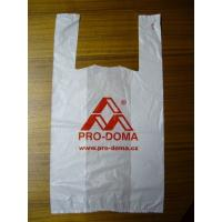 Buy cheap Customised Printing Plastic grocery bags biodegradable LDPE T Shirt polybag from wholesalers