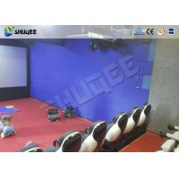 Buy cheap Interactive Shooting 7D Cinema Set Up In Parks And Playgrounds With Immersive Experience from wholesalers