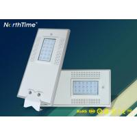 Buy cheap 18V 20W Solar Powered Motion Sensor Street Lights With Bridgelux LED Chips from wholesalers