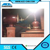 Buy cheap Vodka Distillery Equipment For Sale & Red Copper Small Size Whiskey Distilling Equipment from wholesalers