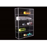 Buy cheap 5 Layer Clear Acrylic Display Stands Airplane Cars Model Storage Rack Customised product