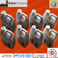 Buy cheap Dye Sublimation Inks for Mimaki Jv5 sublimation ink for t shirt printing ink for t shirt printing deep black sublimation from wholesalers