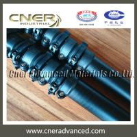 Buy cheap High stiffness 30 feet carbon fiber telescopic pole, telescoping pole from wholesalers