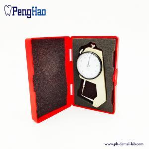 China Dental Wax Calibrator Caliper/Dental Crown Gauge for Metal/Laboratory Instruments Caliper for Meta on sale