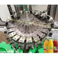 Buy cheap Glass Bottle Rinsing Corking Beverage Filling Machine For Nectar , Wine , Alcoholic product