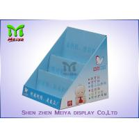 Buy cheap Trade Show Foldable Cosmetic Display Stand , Customized Cardboard Book Display from wholesalers