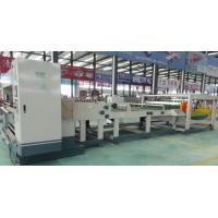 Buy cheap Single Corrugated Cardboard Machine Electric Blade Adjustment 1800mm Working Width from wholesalers