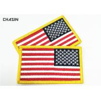 Buy cheap American Flag Military Style Patches Durable Military Embroidered Badges from wholesalers