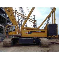 Buy cheap Durable Construction Site Mobile Hydraulic Crawler Crane , QUY250 XCMG Crawler Crane from wholesalers