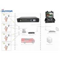 Buy cheap Vehicle Mounted SD Analog Video Transmitter And Receiver In City Transmission 40W Powerful from wholesalers
