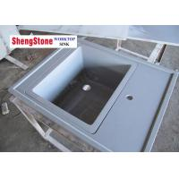 Buy cheap Grey Marine Sink Epoxy Resin Lab Countertops For Chemical Laboratory product