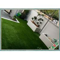 Buy cheap SGS Landscaping Artificial Grass Carpet Roll With Monofil PE / Curly PPE Material from wholesalers