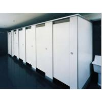 Buy cheap Gym Bathroom Shower Cubicle Door / White Color Partition from wholesalers