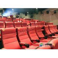 Buy cheap Safety 4D Movie Theater Equipment With Special Effect And Soft Sliver Screen product