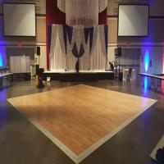 Buy cheap Use hardwood flooring for sale aluminum edge for dance floor twinkling dance floor from wholesalers