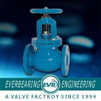 Buy cheap 125LB GEAR BOX Cast Iron Globe Valve With Stainless Steel Seat Ring from wholesalers