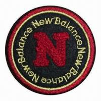 Buy cheap Embroidered Patch, Embroidery Emblem, Chenille Patch, Available in Various Sizes, Shapes and Colors from wholesalers