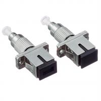 China Metal Type Hybrid Fiber Adapter 2.5mm - 1.25mm For Visual Fault Locator on sale