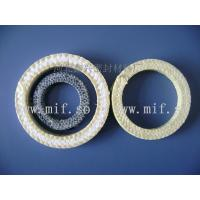 Buy cheap Ceramic fiber packing rings    Graphite packing ring    Packing seals   Kevlar ring   Aramid Circle from wholesalers