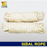 Buy cheap Bleached sisal rope from wholesalers