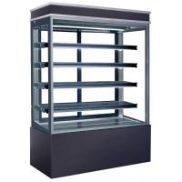 Buy cheap 960L Refrigerated Cake Display Cabinets Full LED Light For Each Deck with 1500mm Length and Four-layers Shelves product