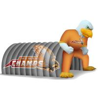 Buy cheap Inflatable Amusement Park With Eagle Tunnel For Business from wholesalers