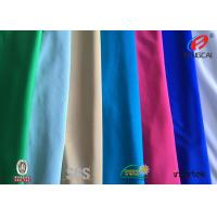 Buy cheap Semi Dull Satin Polyester Spandex Fabric For Brand Women Garments / Evening Dress from wholesalers
