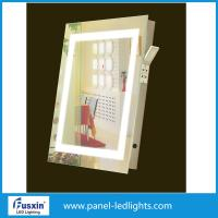 Buy cheap Frameless Square Led Bathroom Mirror , led bathroom mirrors with demister from wholesalers