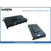 Buy cheap Lightweight COFDM Wireless HD Video Transmitter 3 Watt 1080P HD for UAV / UGV / Robort from wholesalers