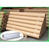 Buy cheap White CAD Bond Paper 80g Engineering Drawing Paper Roll Size 610mm 914mm product