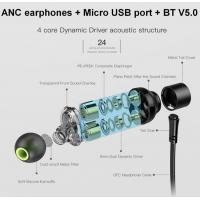 Buy cheap Active noise cancellation sports earphones earbuds Bluetooth 5 wireless earphone Force ANC from wholesalers
