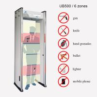 Buy cheap Sound / LED Alarm High Sensitive Metal Detector 12W UB500 5 Digital LED Count from wholesalers