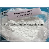 Buy cheap Assay 99% Procaine Hcl Raw Pain Relief Powder CAS 51-05-8  Local Anesthetic Drugs from wholesalers