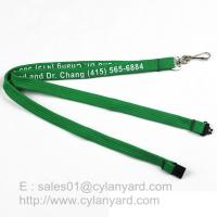 Buy cheap Inexpensive Tube lanyard with Swivel J hook, printed polyester tube lanyards from wholesalers